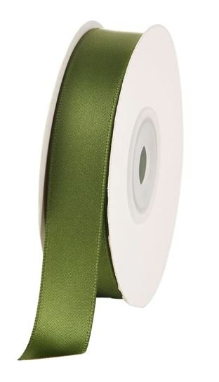 Satin Ribbon Green Olive