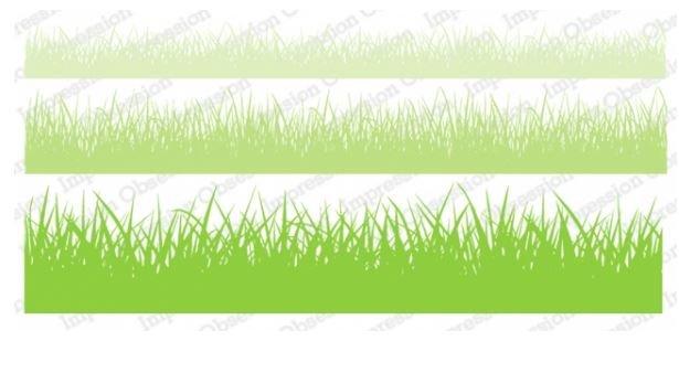 Grass Stamp Set