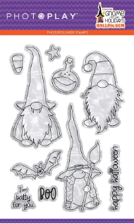 Gnome For The Holidays - Halloween Stamps