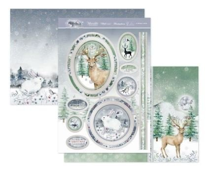 Winter Forest A Winter's Wish Luxury Topper Set