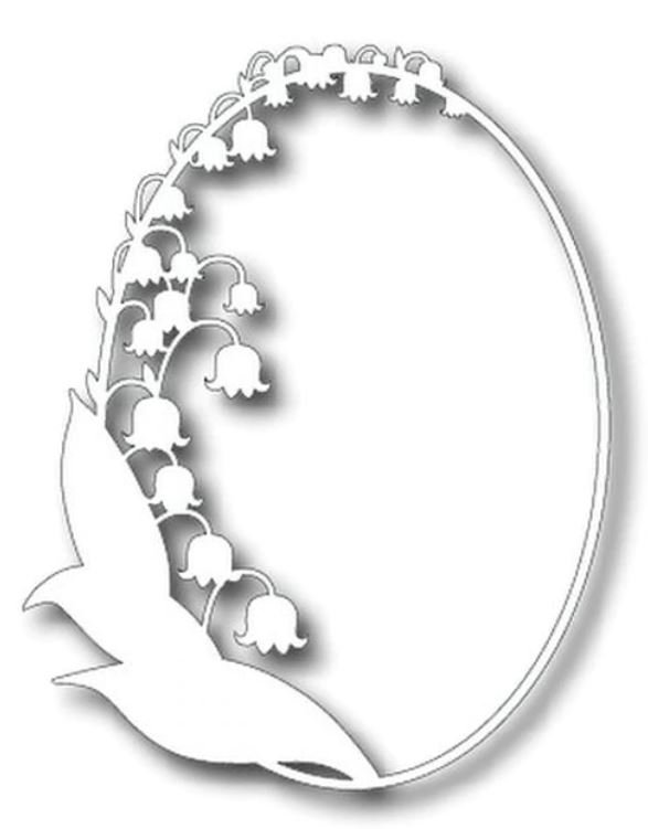 TUTTI-172 Lily Of The Valley Frame