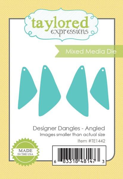 DESIGNER DANGLES - ANGLED