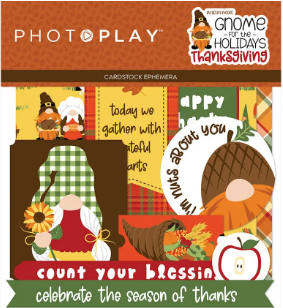 Gnome For The Holidays - Thanksgiving Ephemera