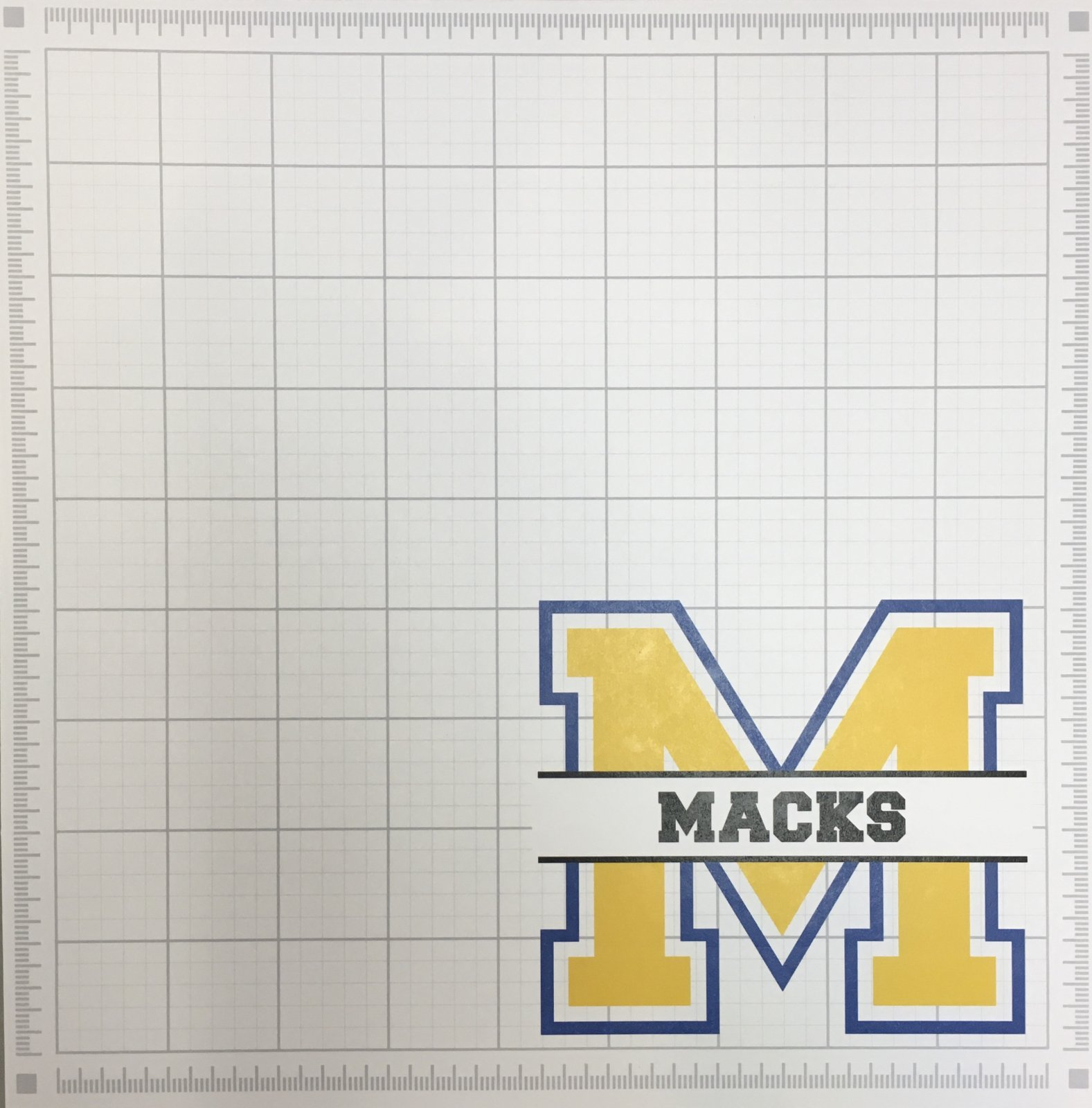 MACKS MASCOT GRAPH PAPER