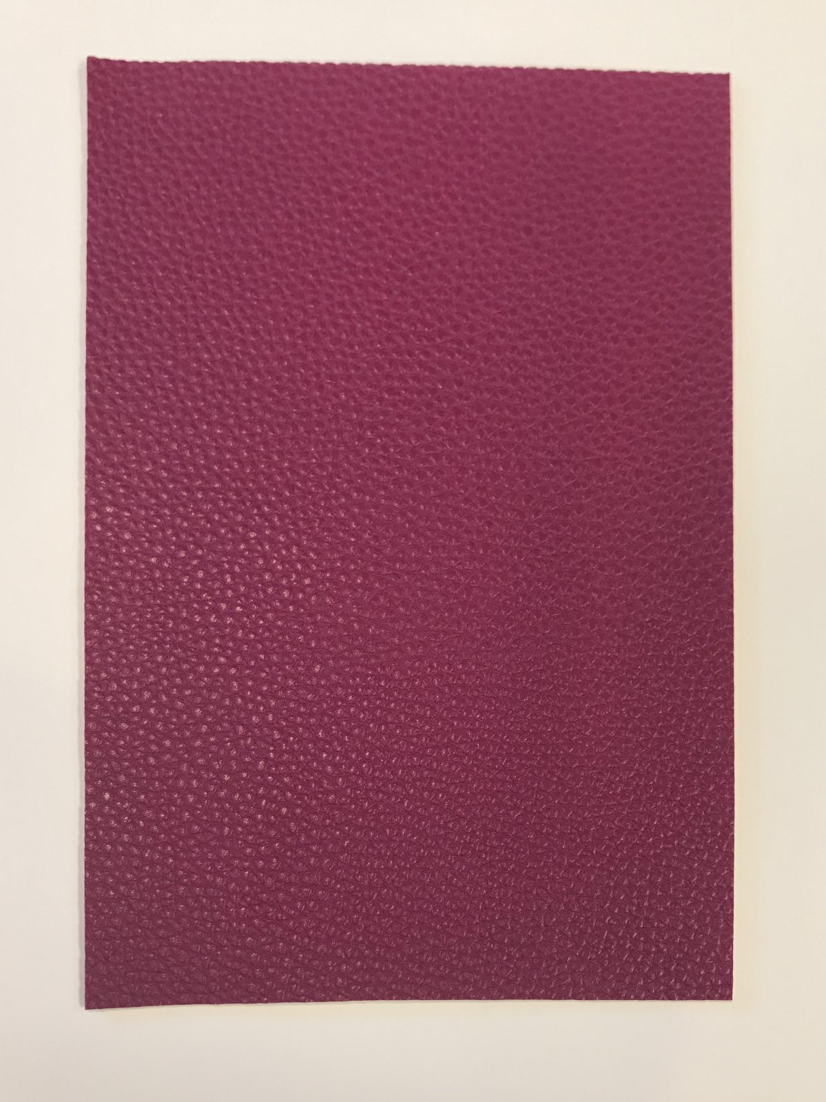 FAUX LEATHER - RASPBERRY