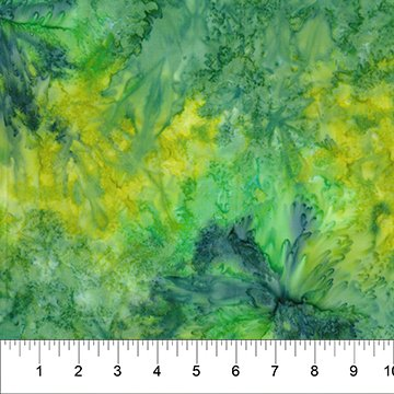 Batik Multi Green