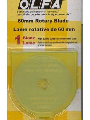 Olfa Cutting Blades 60mm  1 count