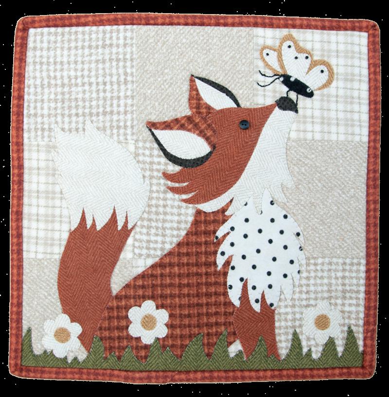(TWBL08)   August Frolicking Fox