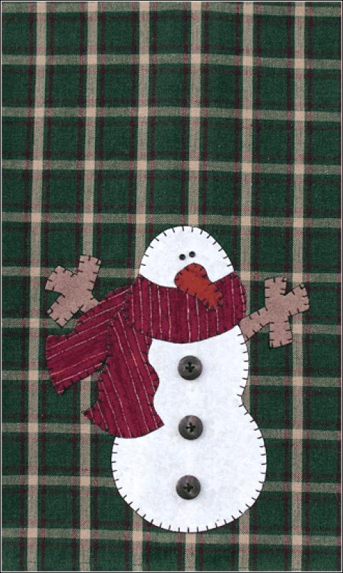 (TWBP01)   Snowman Patternlet
