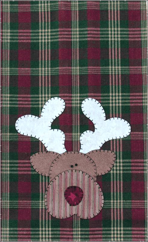 (TWBP04)   Reindeer Patternlet