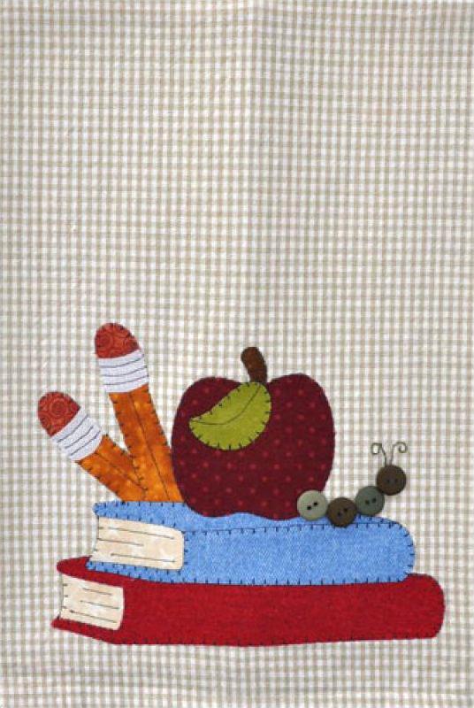 (TWBP19) School Books Patternlet