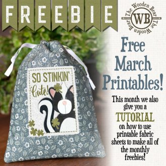 graphic about Printable Fabric Sheets for Quilting titled Totally free Downloads