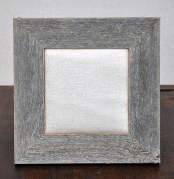 6x6 Barnwood Natural Frame