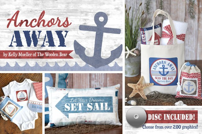 (TWBB08)    Anchors Away Book & Disc