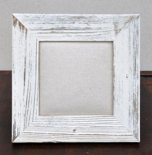 6X6 Barnwood Ivory Frame
