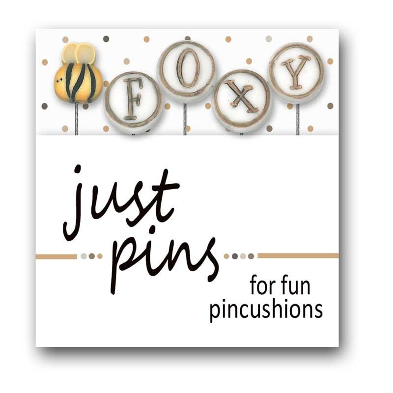 (JABC-JP190)   Just Pins- Be Foxy