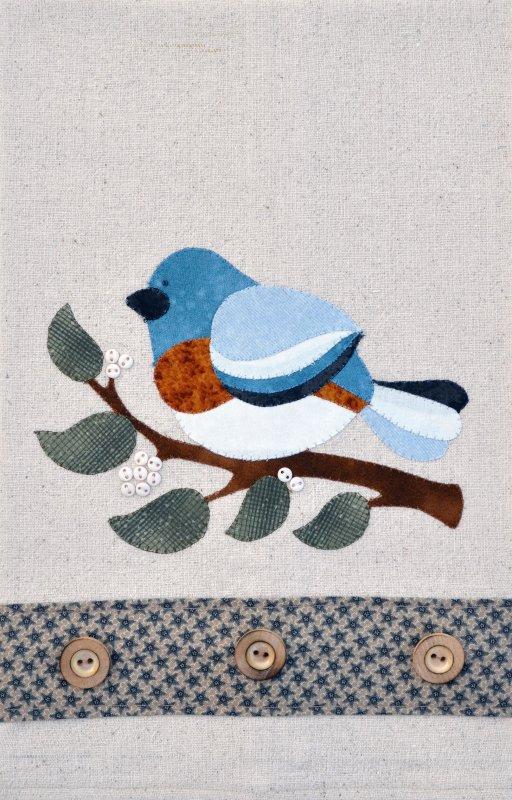(TWBP24)   Blue Bird Patternlet