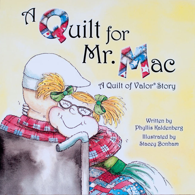 (PK-BOOK2)   Children's Book- The Quilt for Mr. Mac