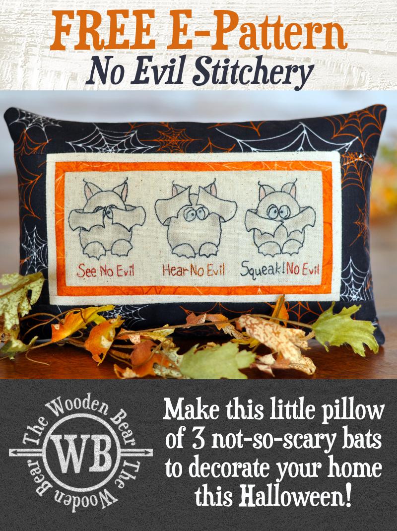 No Evil Stitchery