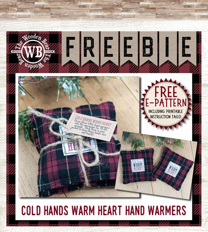 Cold Hands Warm Heart Hand Warmer E-Pattern