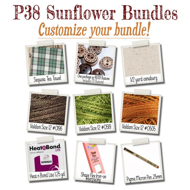 (BUNDLE-P38)   Bundle It for P38 Sunflower