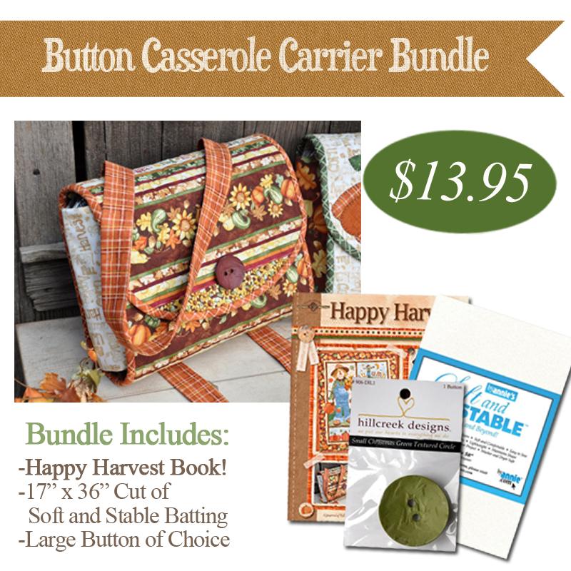 (BUNDLE-ButtonCass)   Button Casserole Carrier Bundle