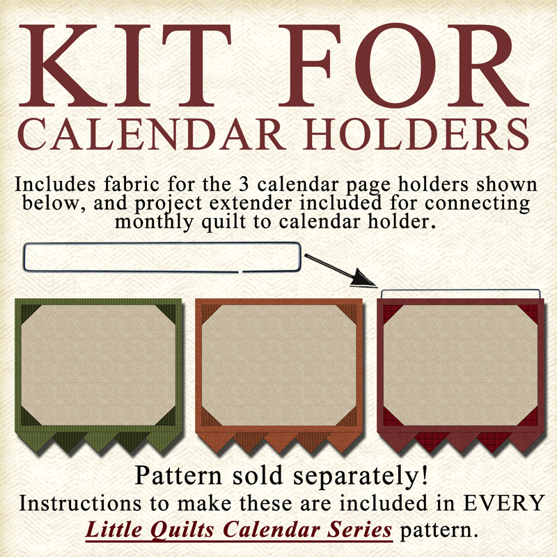 (KIT-CALENDARHOLDERS) KIT for All 3 LQCS Calendar Holders