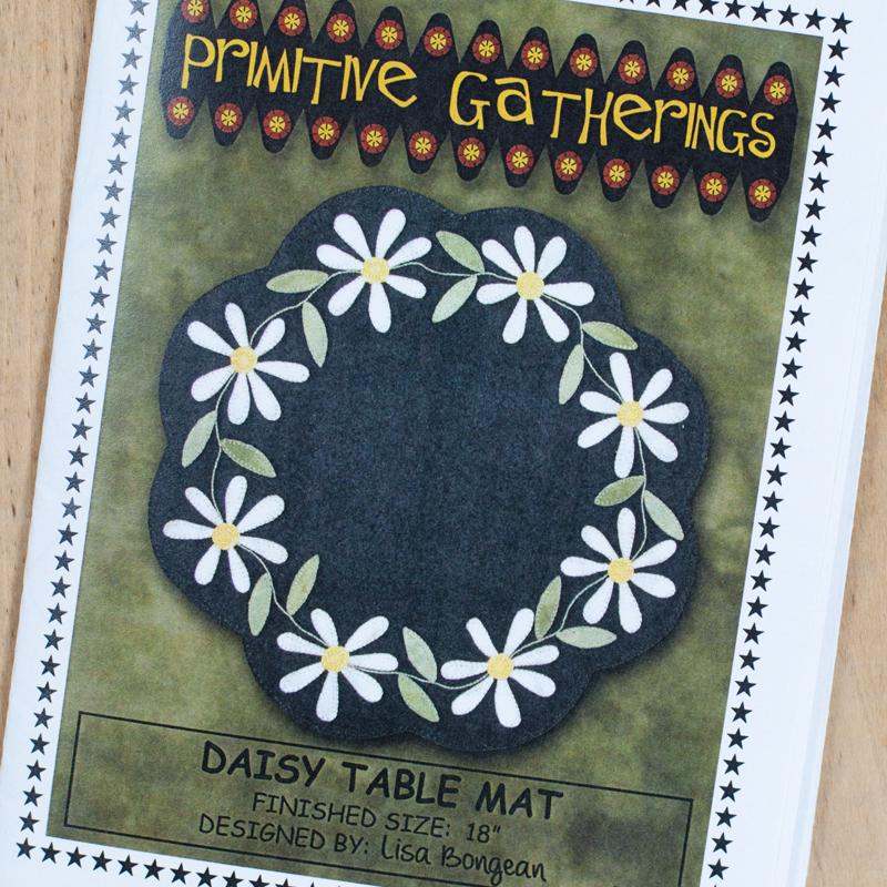 (CHK-PRI163)  Daisy Table Mat