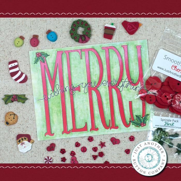(JABC-BB12)   December Button Lovers Box