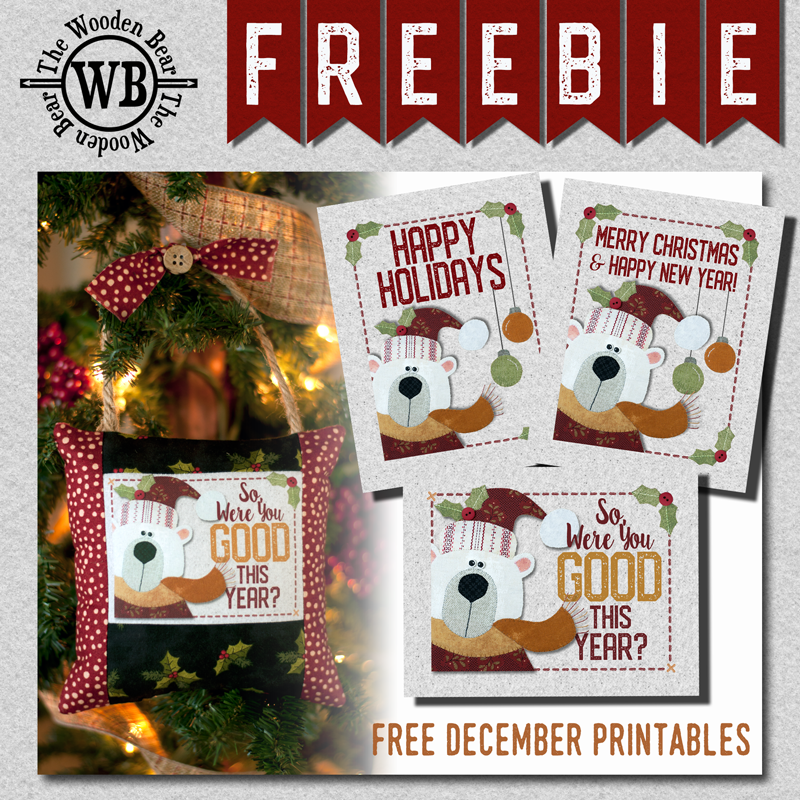 FREEBIE December Printable