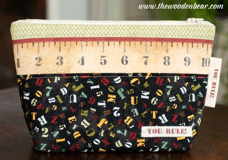 (TWBC08-D)   School Days Ruler- Theme