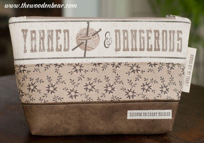 (TWBC03-D)   Yarned and Dangerous Crochet- Theme