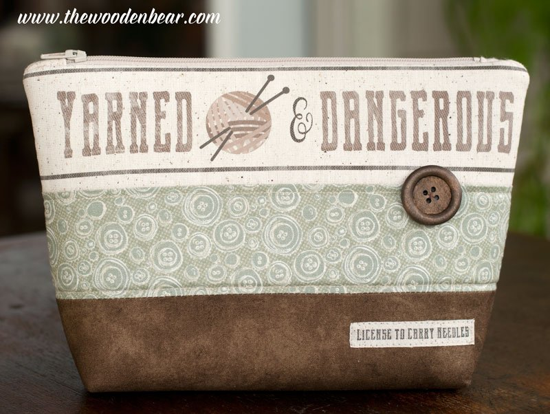 (TWBC02) Stand-Up Pouch Yarned & Dangerous Knit