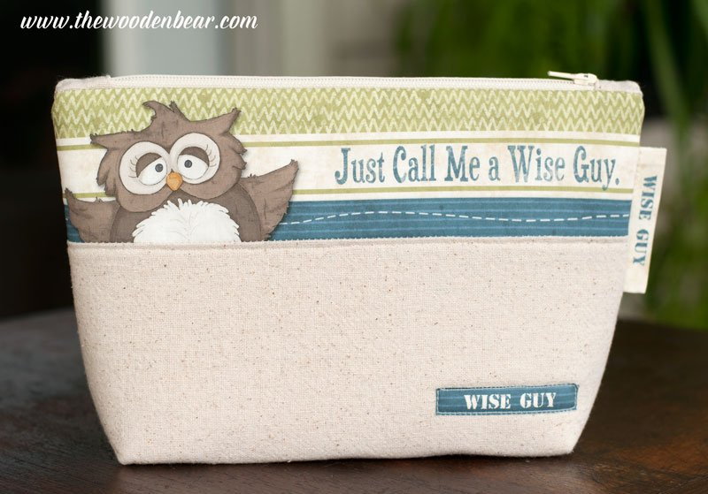 (TWBC09)  Stand-Up Pouch Just Call Me a Wise Guy