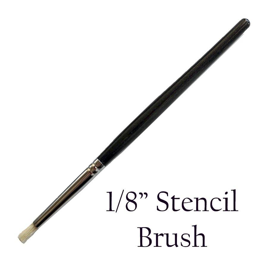 (P3-301 )   1/8 inch Stencil Brush