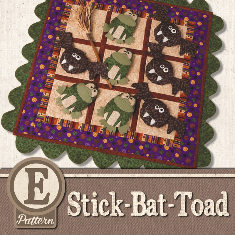 (TWB-EStickBatToad )   E-pattern Stick-Bat-Toad