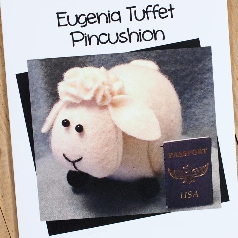 (JABC-P1004)   Eugenia Tuffet Pincushion