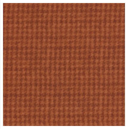 (F18503-OHalf)   HALF Yard Cut of Houndstooth Orange Flannel