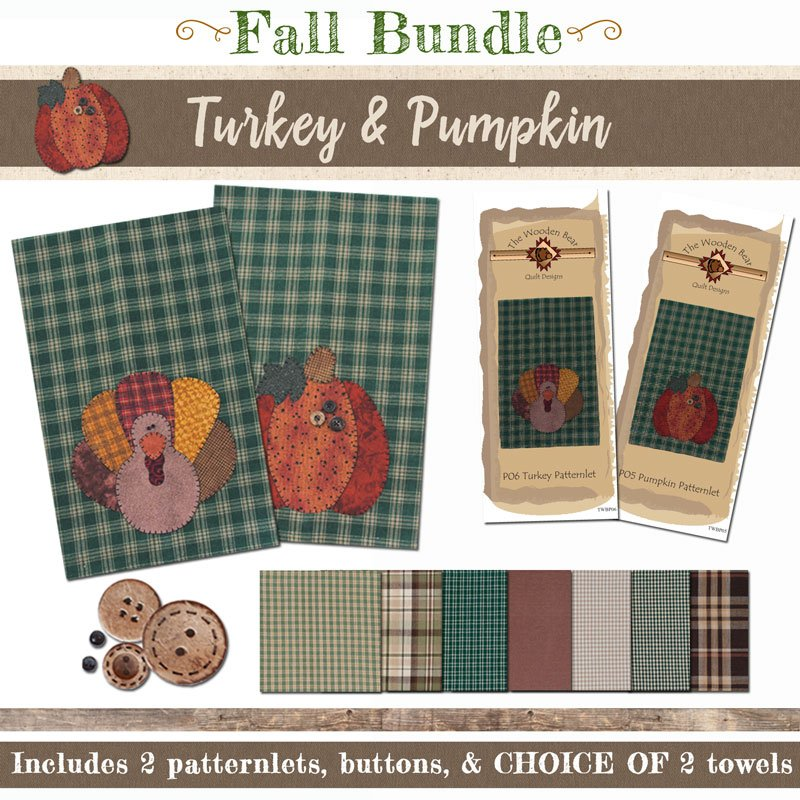 (BUNDLE-TP)   Turkey & Pumpkin Bundle