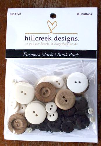 (HCD-B05TWB)   Farmers Market Book Button Pack