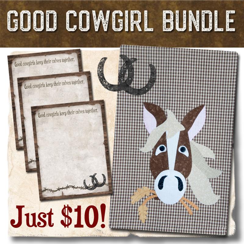 (BUNDLE-Cowgirl)   Good Cowgirl Bundle