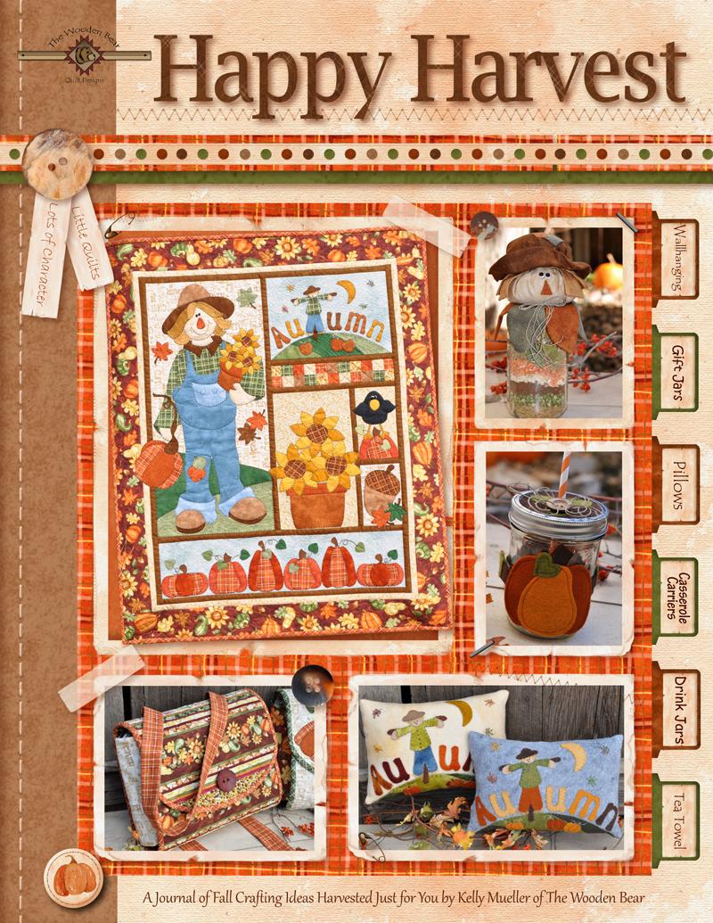 (TWBB06)    Happy Harvest Book