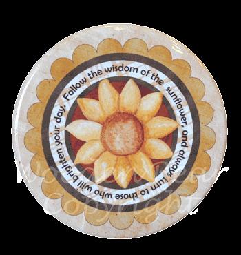 (TWBM010)   Sunflower Magnet