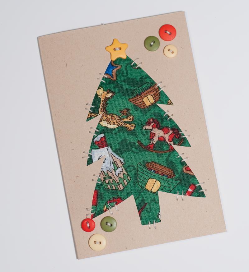 (HCD-8002C)   BLANK Simple Stitch Cards in Birch