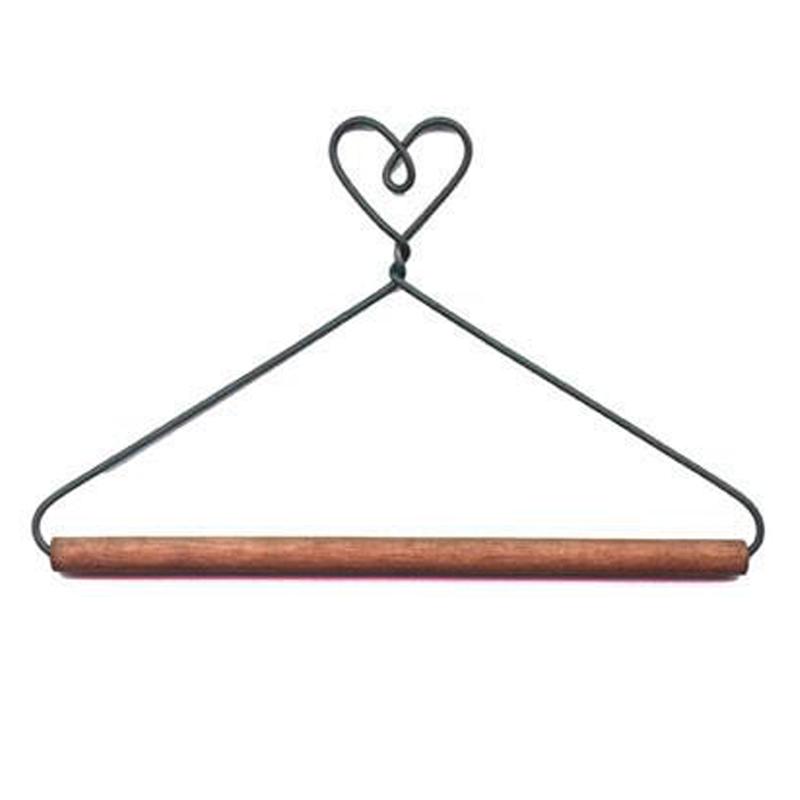 (ACK-2770)   6 Inch Heart Dowel Hanger