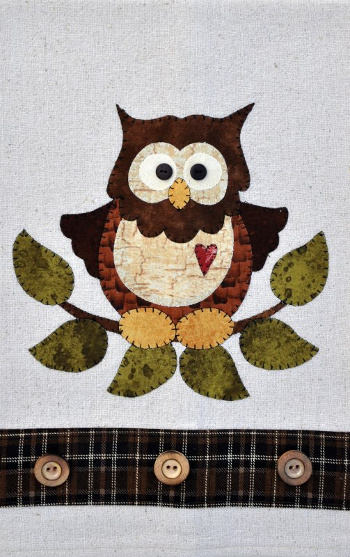 P26 Little Hoot Owl Patternlet