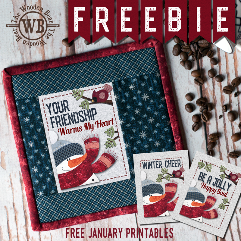 FREEBIE January Printable