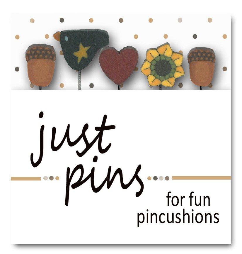 (JABC-JP136)   Just Pins- Harvest Heart