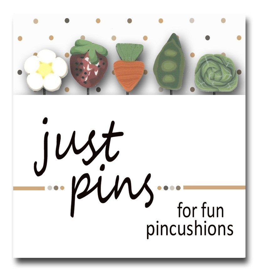(JABC-JP163)   Just Pins- Fresh Vegetables