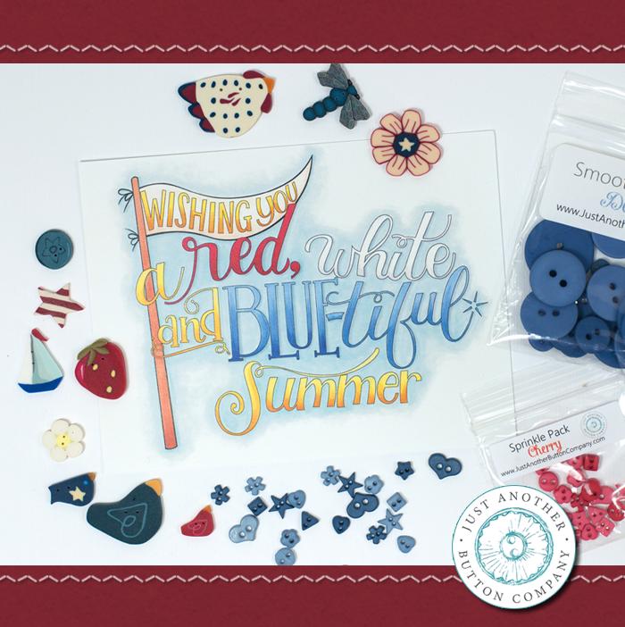 (JABC-BB07)   July Button Lovers Box